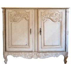 Extremely Rare Antique French Regence Buffet