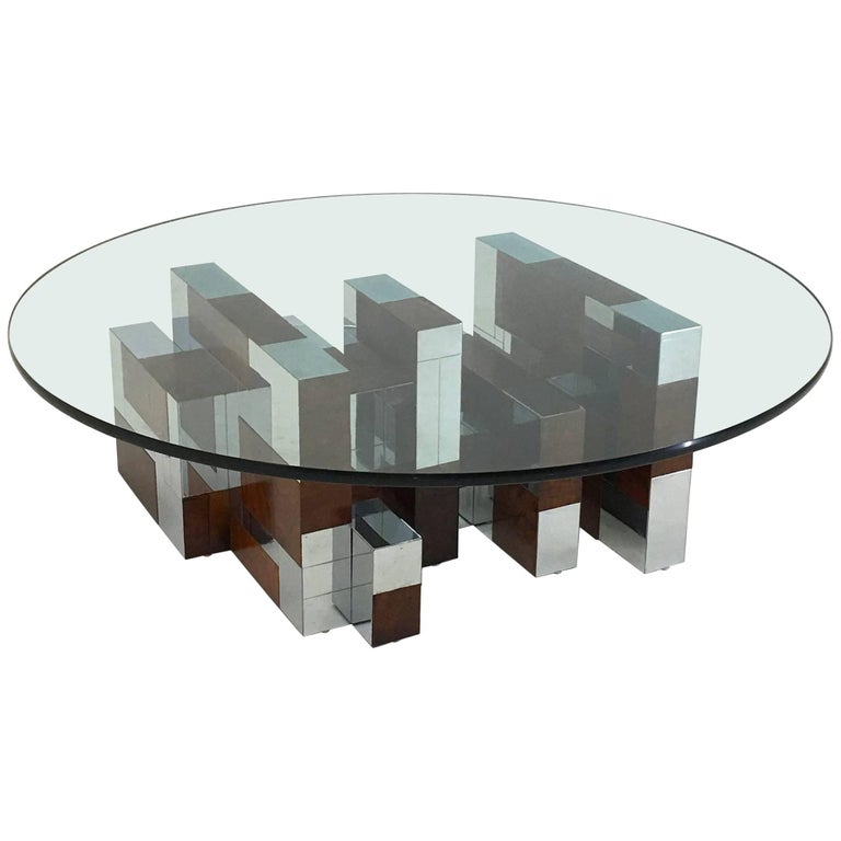 Coffee Table by Paul Evans PE 400 Series for Directional For Sale