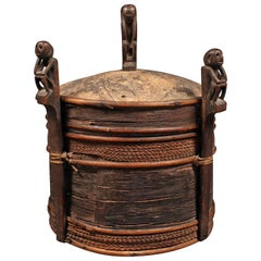 Late 19th Century Dayak Shaman's Box