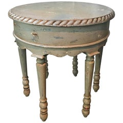 "Shabby Chic Farmhouse Side Table ""Sea Star"""