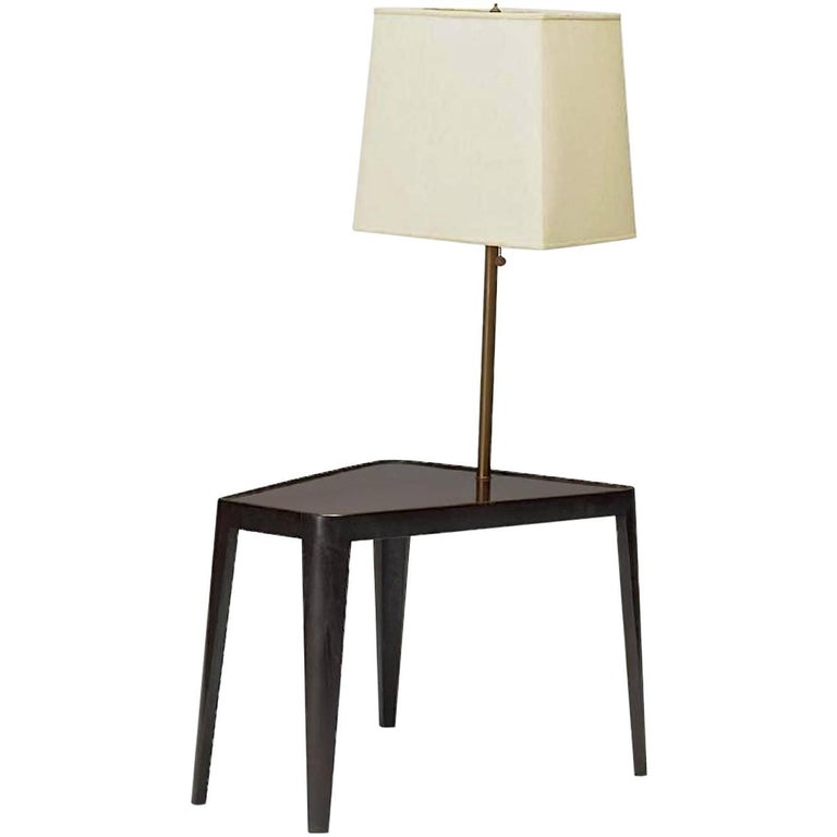 Edward Wormley for Dunbar Wedge Form Lamp Table