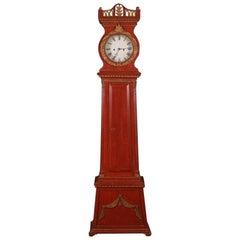 19th Century Morten Jorgen Moller Grandfather Clock