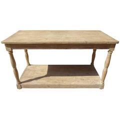 Late 19th Century Console / Drapier Table