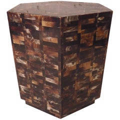 Tortoiseshell Side Table