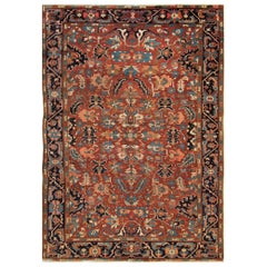 Antique Carpets, Persian Rugs, Heriz Rug
