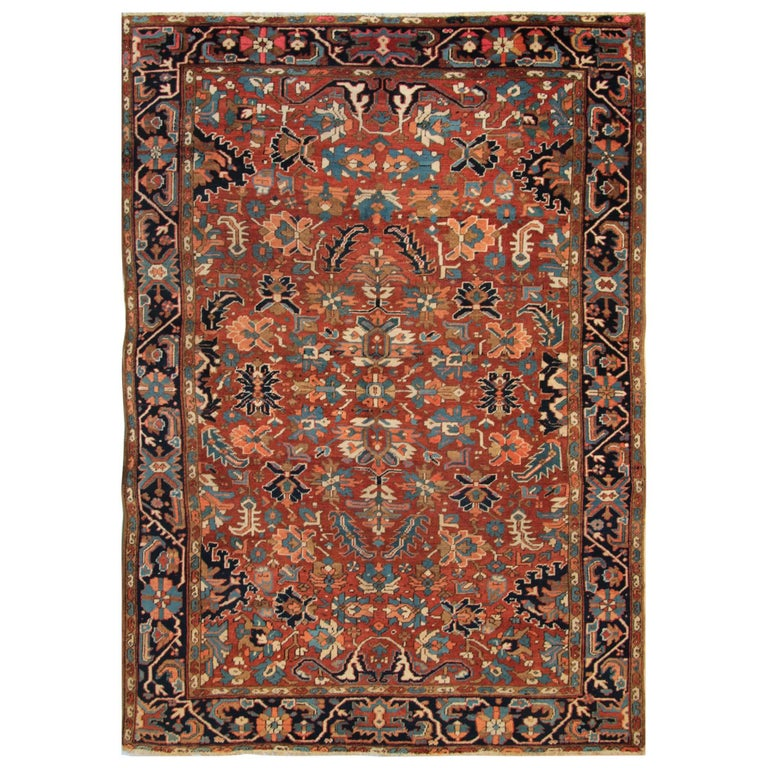 Persian Rugs For Sale: Antique Carpets, Persian Rugs, Heriz Rug For Sale At 1stdibs