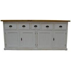 Vintage Pine Shop Counter/Kitchen Island