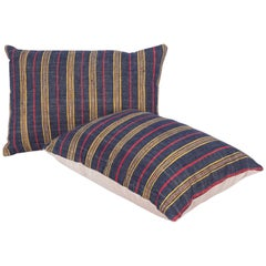 Pillow Cases Fashioned Out of an Mid-20th Century Anatolian Cotton Fabric