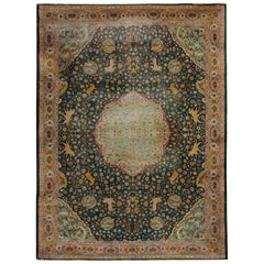 Antique Carpet, Agra Carpet Antique Indian Rugs