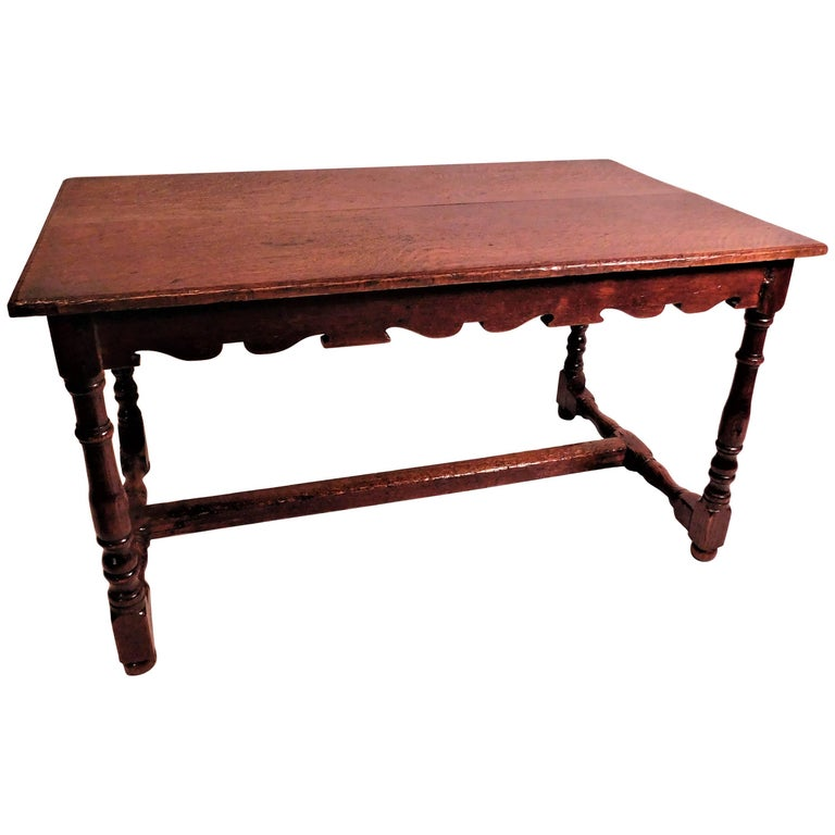 Jacobean Style Oak Coffee Table For