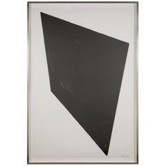 Richard Serra Lithograph Titled Eight by Eight