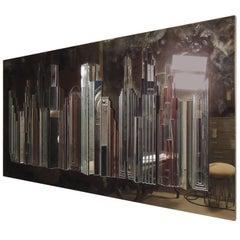 Cityscape Wall Mirror