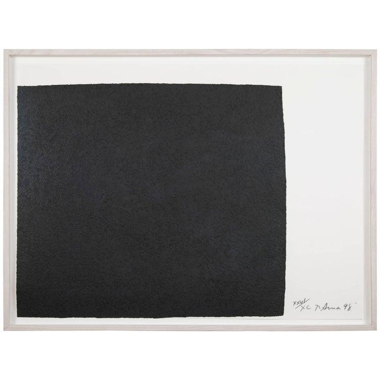 <i>Leo</i>, from the <i>Leo Castelli 90th Birthday Portfolio</i>, 1998, by Richard Serra, offered by Avery & Dash Collections