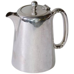 Vintage English Silver Plated Hotel Coffee Pot