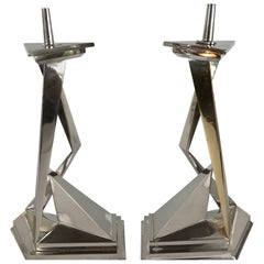"Pair of Salvador Dali ""Twins"" Candlesticks, Castor & Pollux"