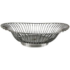 Christofle Silver Plate Basket