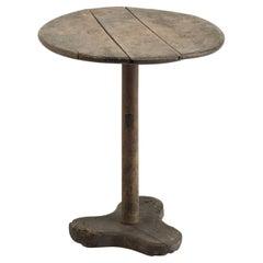 Primitive Side Table, circa 1870