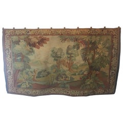 French Aubusson Tapestry, circa 1850