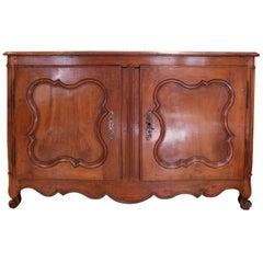 Antique French 18th Century Period Regence Walnut Buffet