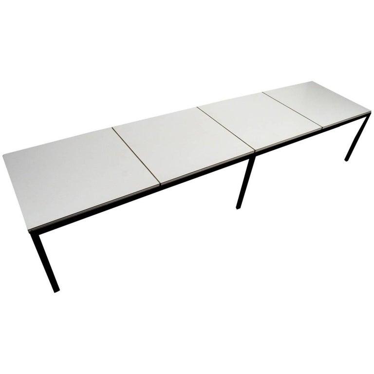 Classic Knoll Angle Steel Coffee Table