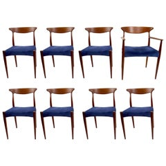 Set of Eight Arne Hovmand Olsen Dining Chairs