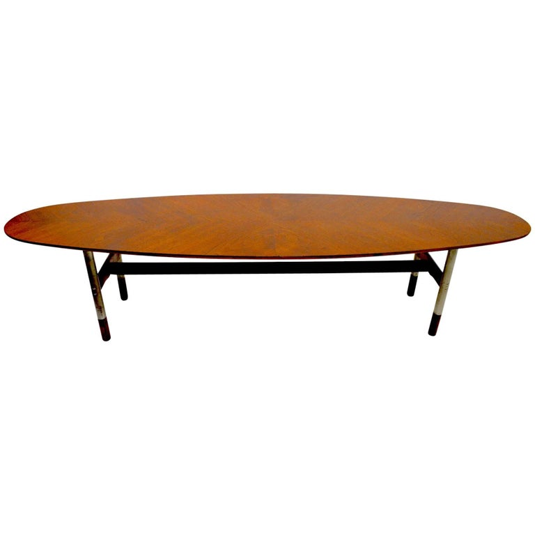Surfboard Table Attributed to Arne Vodder