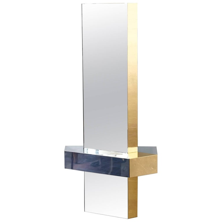 Cityscape Mirror in the Manner of Paul Evans