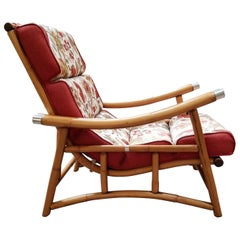 Highback Rattan Lounge Chair