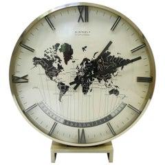 World Time Clock International by Heinrich Möller for Kienzle, Germany, 1970s