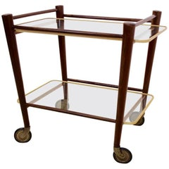 Elegant Serving Trolley by Cees Braakman for Pastoe, Netherlands, 1950s