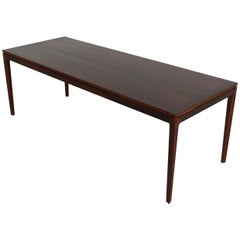 Superb Rectangular Mahogany Coffee Table