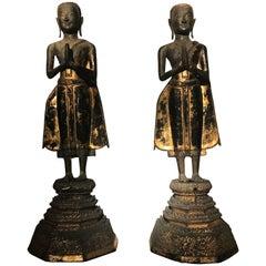 Pair of Standing Budddhas