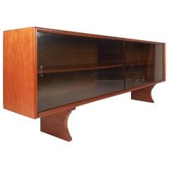 Teak Danish Modern Executive Desk By Gunni Omann For Sale