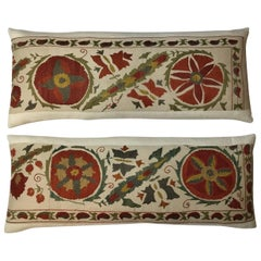 Pair of Hand Embroidery Suzani Pillows