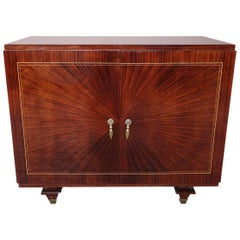 French Art Deco Bar Cabinet, circa 1930s