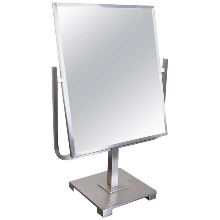 Vanity Top Two-Sided Flip Mirror, circa 1950s