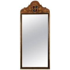 Tall and Narrow Spanish Revival Hand-Painted Mirror