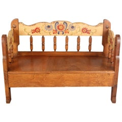 Antique Children Size Monterey Bench