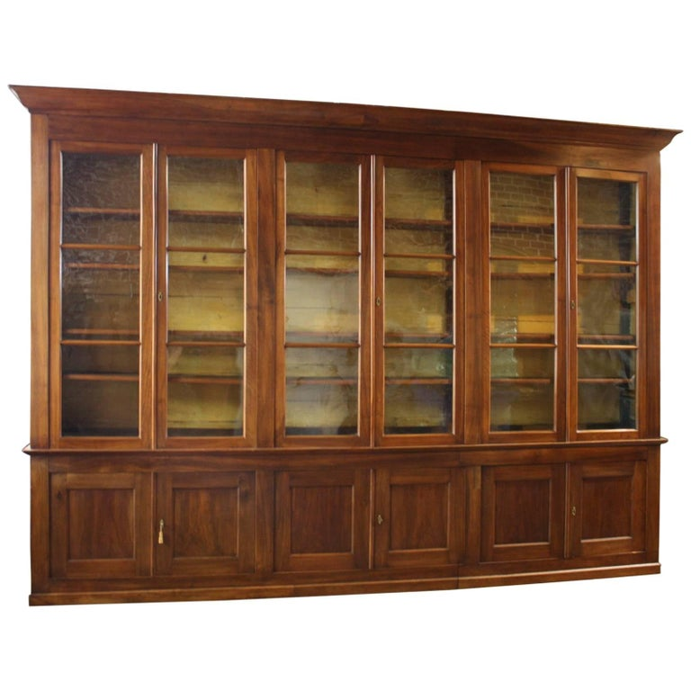 """Exceptional 19th Century, French Cabinet """"Deux-Corps"""""""