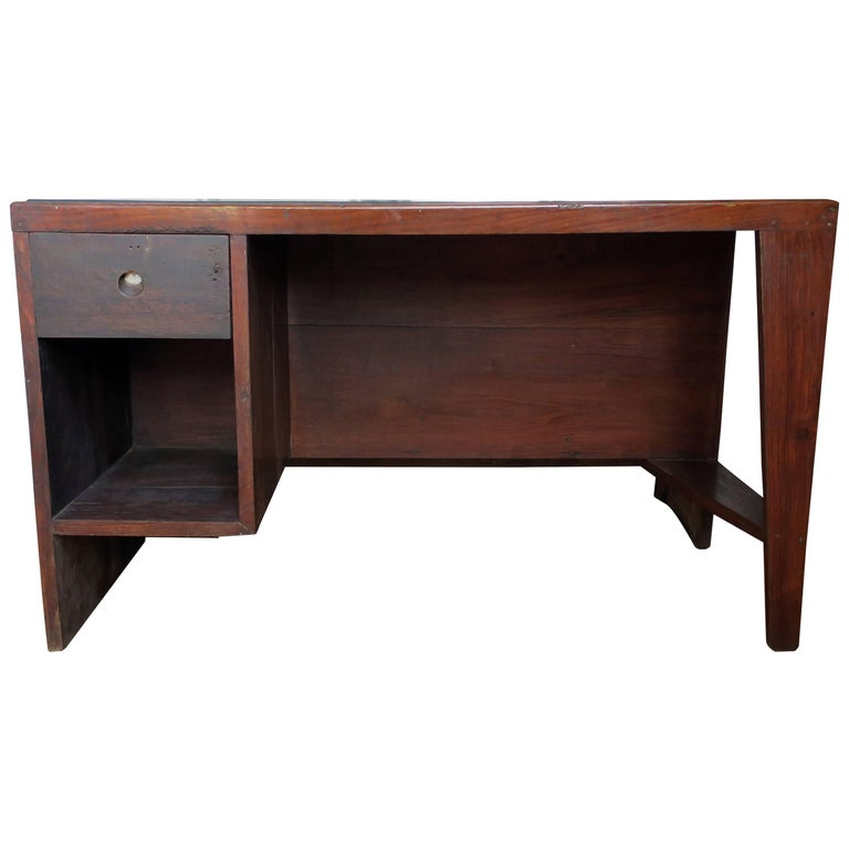 Pierre Jeanneret Desk from the Administrative Buildings, Chandigarh For Sale