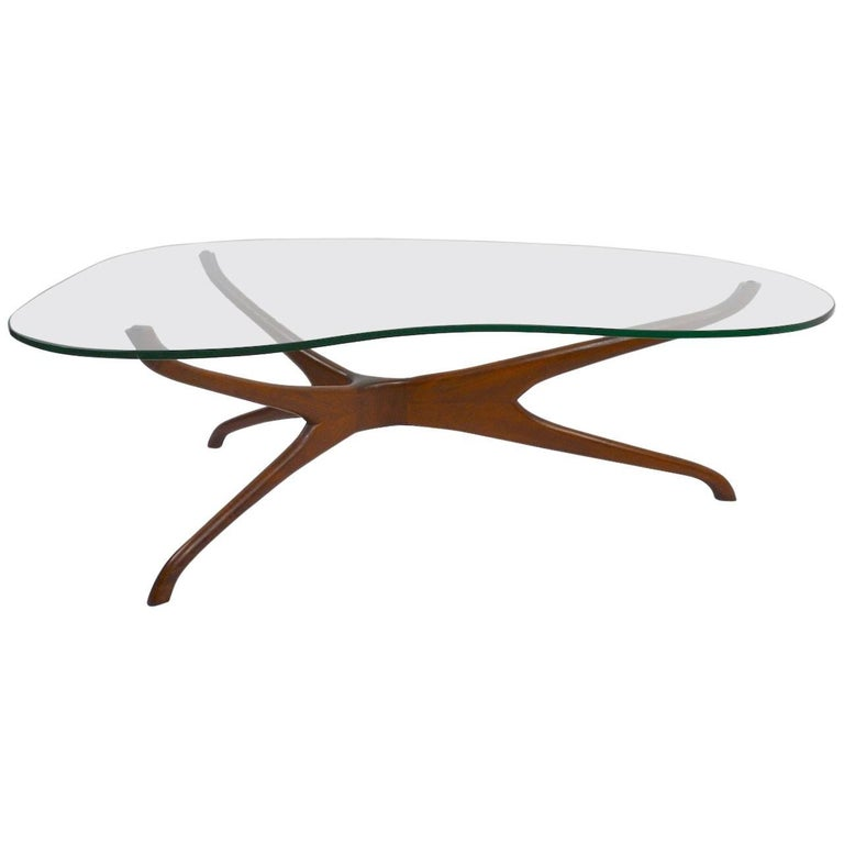 Sculptural Kagan Coffee Table At 1stdibs