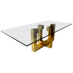 Large Paul Evans Cityscape Dining Table