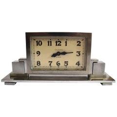 Art Deco Skyscraper American Mantle Clock