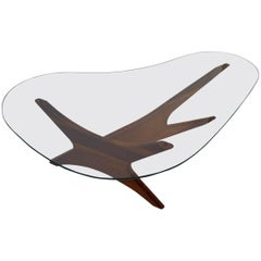 Classic Pearsall Free Form  Coffee Table