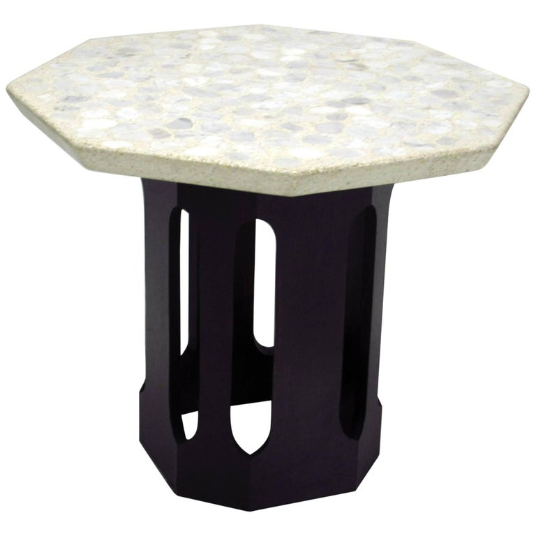 Occasional Table by Harvey Probber, Terrazzo Top, circa 1960s