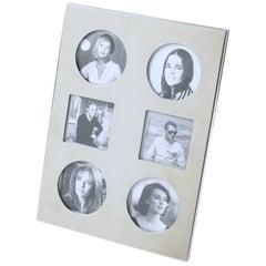 Christian Dior Paris Silver Plate Picture Photo Frame, circa 1970s