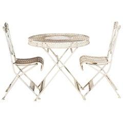 French Cast Iron Garden Furniture