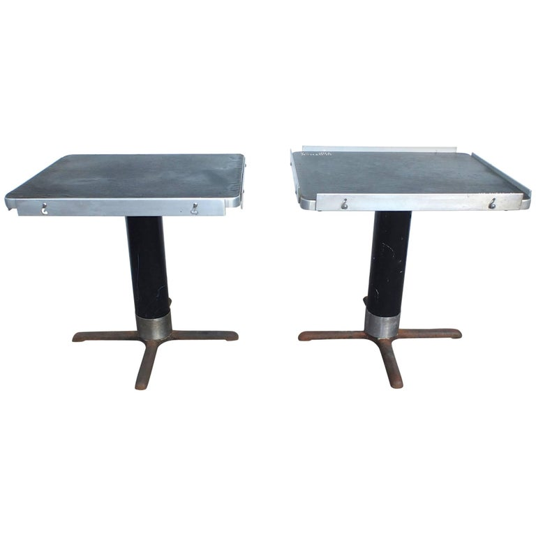Rectangular Pedestal Dining Tables from the S.S. United States Ocean Liner