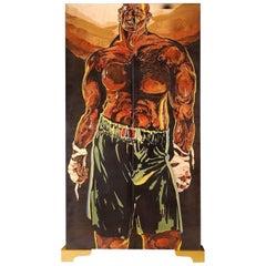 """Hommage a un Boxer Dechu"" Cupboards by Hilton McConnico, 1997"