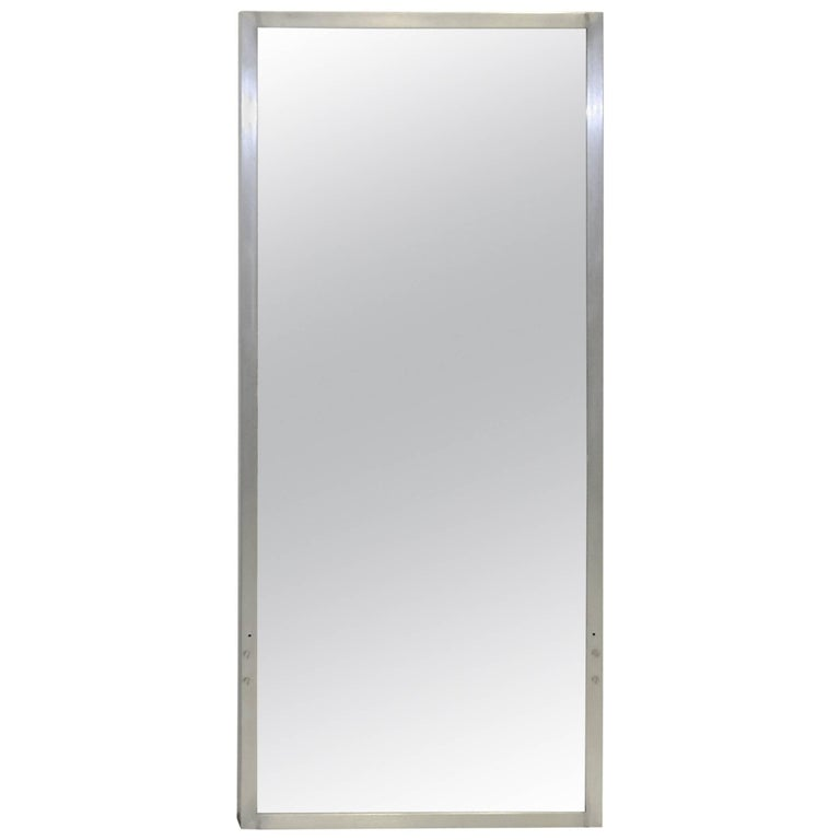 S,S, United States Wall Mirror with Aluminium Frame